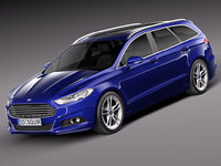 Ford Mondeo Wagon 2015