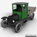 Ford model tt 3D models
