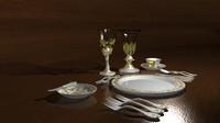 Renaissance Dinner Set