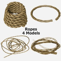 ropes - 4 3d model
