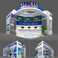 3d exhibition booth design