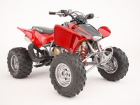 quadricycle atv 3d max