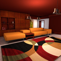 maya living modern lounge room