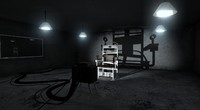 3d model scene interrogation room