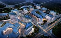 3d model city shopping mall 017