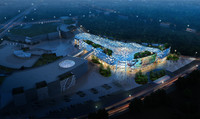 3d city shopping mall 019 model