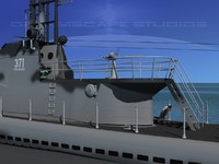 subs balao class submarines 3ds