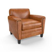 3d maine club chair