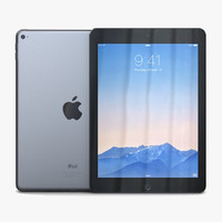 Apple iPad 2 3D models