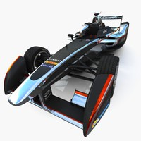 dragon racing formula e 3d max