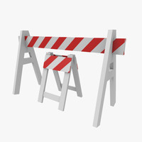 3d road barriers
