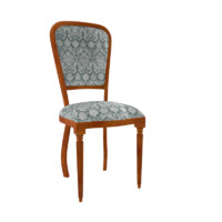 vintage chair 3d 3ds
