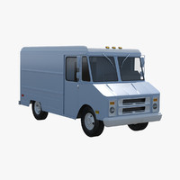 3ds max step van