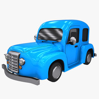 cartoon car 3d max