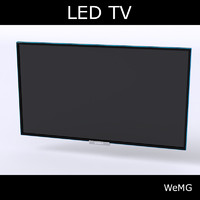TV with wallmount
