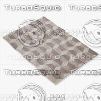 rug tia m1016 3d model