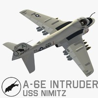 3d a-6e intruder model