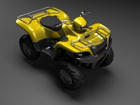 max high-poly quad bike