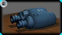 3d model canon binoculars