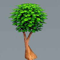 3d 3ds grass trees