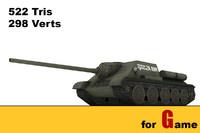 ww ii soviet tank 3d max