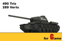 3d model ww ii soviet tank