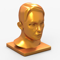 3d decorative head statue