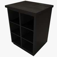 storage cabinet 3d model