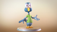3d model cartoon characters
