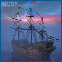 Sea Queen Ship Game Level