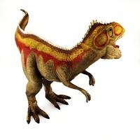 3d model - giganotosaurus