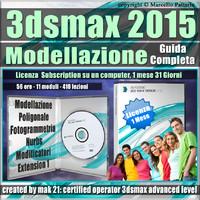 3ds max 2015 Modellazione Guida Completa 1 Mese Subscription