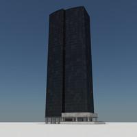 maya - skyscraper building tile
