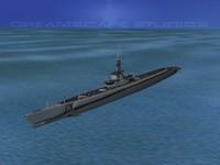 3d max subs balao class submarines