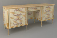 3d model classic dressing table meroni