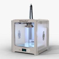 ultimaker 2 3d model