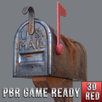 3ds max ready mail box
