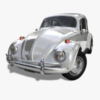 kaefer beetle 1966 car c4d