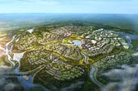 city planning 029 3d max