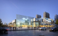 3d model city shopping mall 029