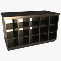 3ds max storage desk cabinet pigeon
