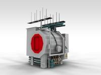 3d furnace vacuum