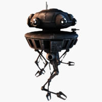 3ds max probe droid