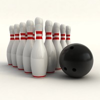 maya bowling skittles