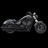 3d model victory gunner motorcycles