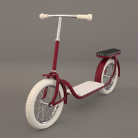 3ds max kick scooter