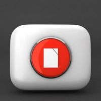3d icon model