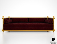 3d model brabbu malkiy sofa