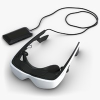 3d max cinemizer virtual reality goggles