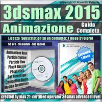 3ds max 2015 Animazione Guida Completa 1 Mese Subscription